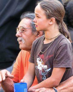 Felipe and 10-year-old Skylar